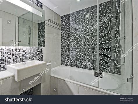 modern luxury bathrooms modern luxury bathroom large bath tub stock photo model 47