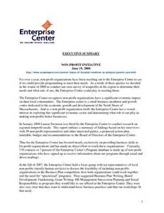 nonprofit cover letter resume sles cover letter