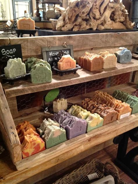 Handmade Soap Displays - 52 best craft show display ideas images on