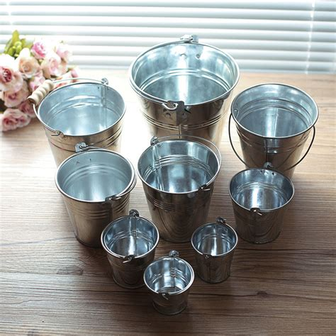 1 Pak Isi 6 Pcs Gelas Bunga Blossoms buy wholesale small tin buckets from china small tin buckets wholesalers aliexpress