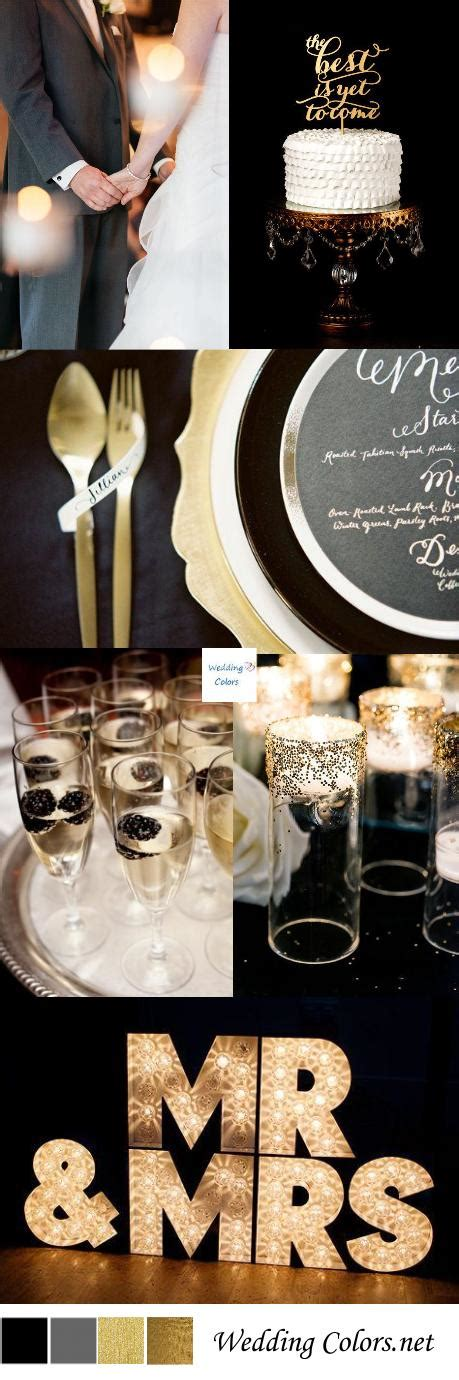 wedding themes gold and black black gold wedding inspiration wedding colors