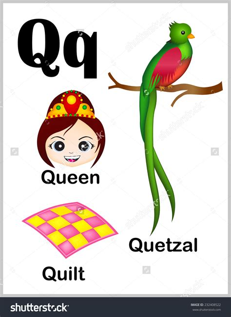 Letter Starts With Q clipart thing that start with the letter q