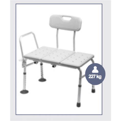 transfer bath bench with back bath transfer bench muw 227 kg with back rest bariatric