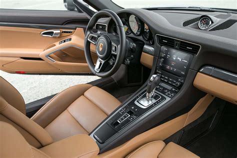 porsche carrera interior 2017 2017 porsche 911 turbo cabriolet first test the ultimate