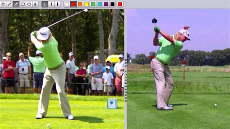 steve stricker wedge swing swing analysis charley hoffman slow motion swing analysis