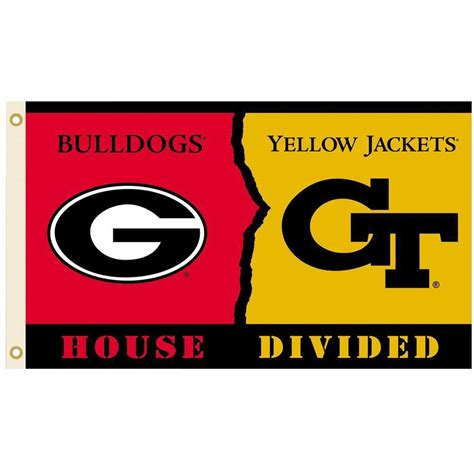 Uga Mba App by Bsi Products Ncaa 3 Ft X 5 Ft Ga Tech Rivalry