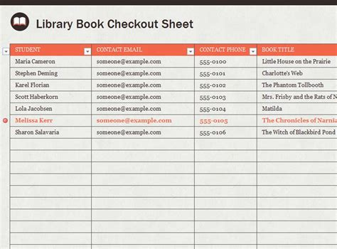 book sign out sheet template library sign out sheet template