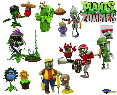 Plants Vs Zombies Garden Warfare Figures by The Gallery For Gt Plants Vs Zombies Potato Mine