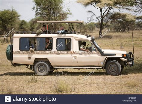 land cruiser africa toyota 4 x 4 landcruiser on a photographic safari in