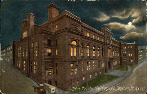 Suffolk County Court Search Suffolk County Court House Boston Ma Postcard