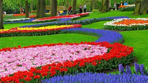 Flower Gardens Wallpapers Wallpapersafari Flower Garden Images Free