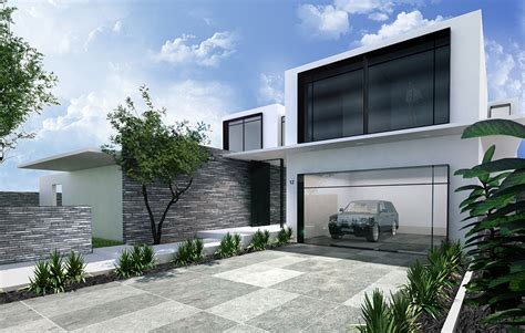 Sloping Lot architect designed luxury homes melbourne luxury living