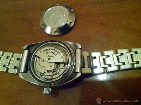 Ricoh 21 Jewels Automatic reloj ricoh automatic 21 jewels japa comprar
