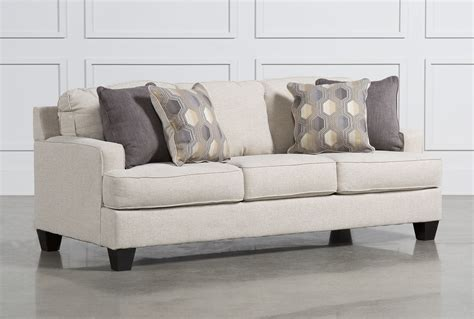 Livingspaces Furniture by Brielyn Linen Sofa Living Spaces