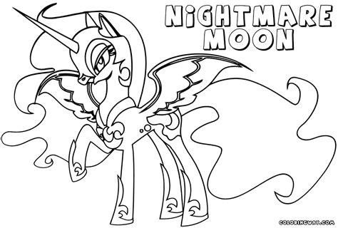 Coloring Page Nightmare Moon | nightmare moon coloring pages coloring pages to download