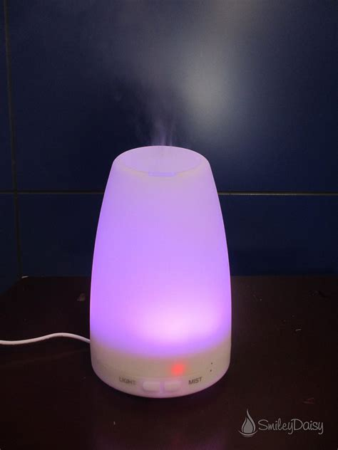 essential diffuser smiley essential diffuser cool mist humidifier