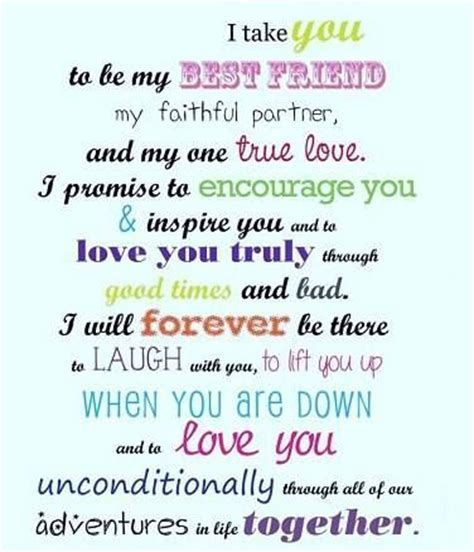 My best friend, Best friends and Vows on Pinterest