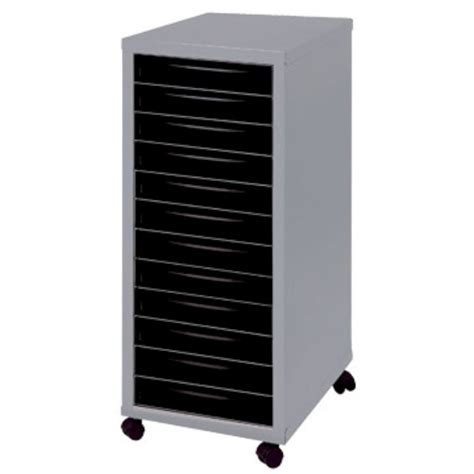file cart on wheels with drawers 12 drawer a4 filing cabinet with wheels silver black