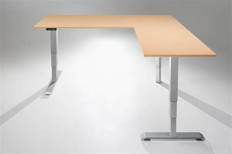 desk height for 6 2 the multitable electric l shaped standing desk multitable