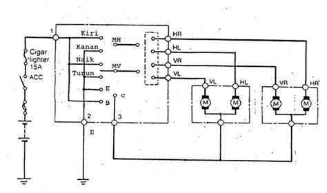 gambar diagram wiring sistem pengapian konvensional image