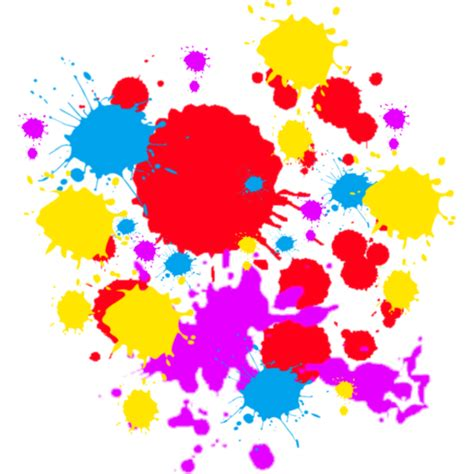 paint splatter coloring pages