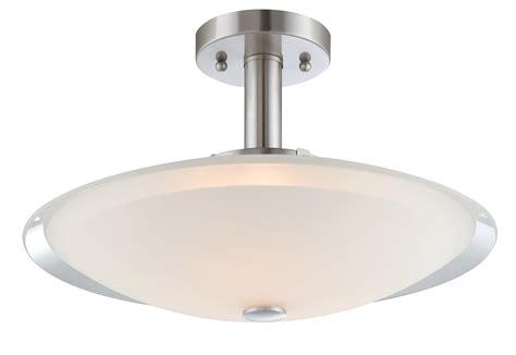 Semi Flush Ceiling Light Fixture Lite Source Ls 5435 Natharie Semi Flush Mount Ceiling Light Fixture