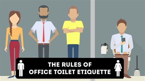 how to your to use the toilet how to use your office toilet infographic