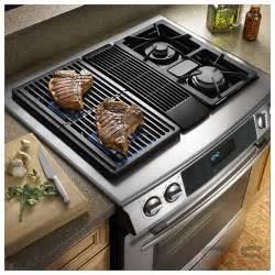 Gas Downdraft Cooktop Reviews Jenn Air Jds9860cds 4 3 Cu Ft Oven Convection Modular