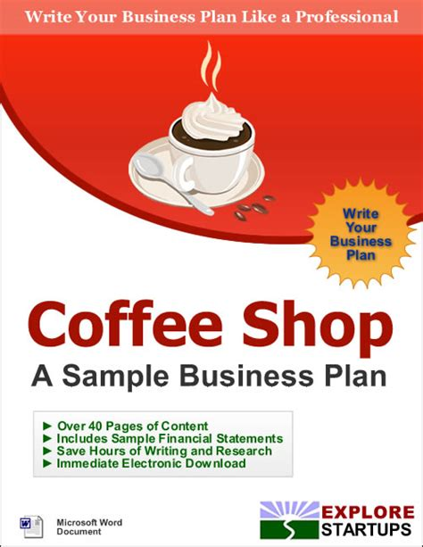 sle business plan pdf coffee shop coffee house business plan 28 images coffee house sle