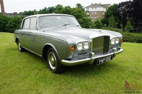 old white bentley 1967 bentley t1 older restoration orignally owned by