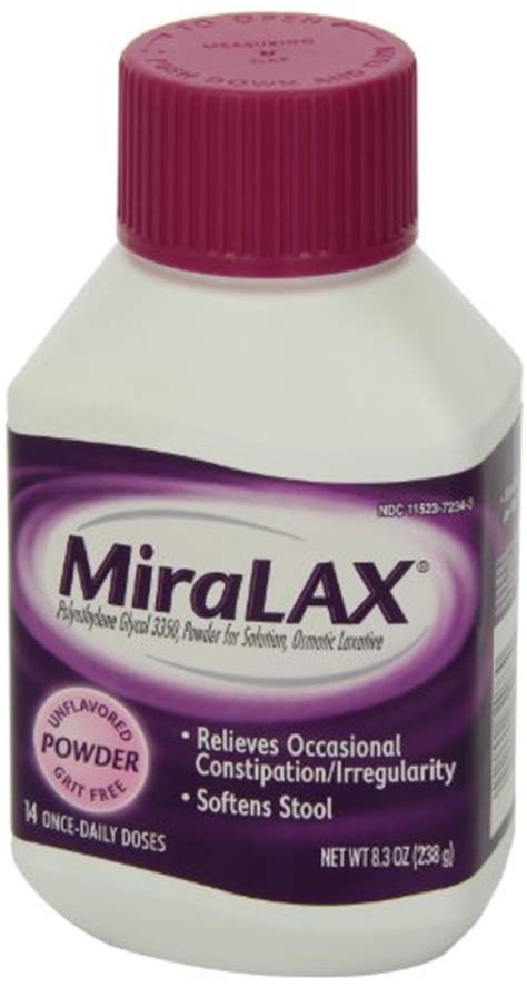 miralax laxative powder 8 3 ounces 14 doses in the uae
