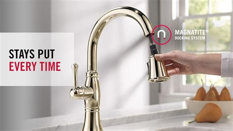 the cassidy single handle pull down kitchen faucet with delta cassidy single handle pull down sprayer kitchen