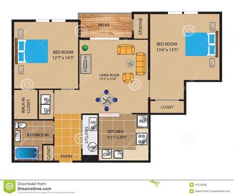planta baixa 3d projeto de planta baixa 3d ilustra 231 227 o stock imagem 41579568