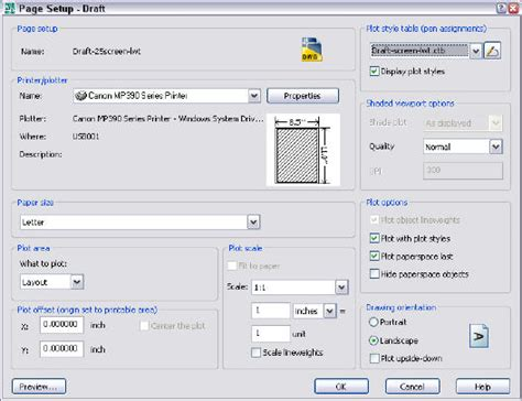 layout manager autocad 2013 tutorial create a plot style color dependent autocad