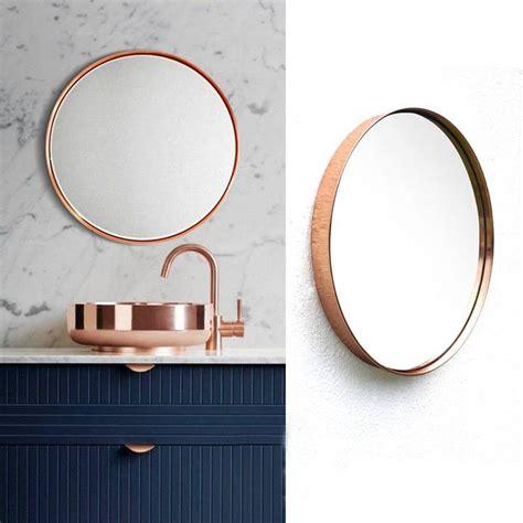 Diy Bathroom Mirror Ideas las 25 mejores ideas sobre espejos redondos en pinterest