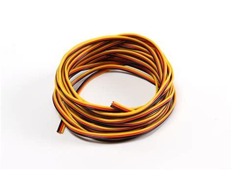 22awg servo wire 5mtr black yellow