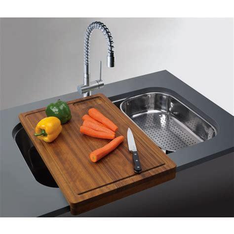 kitchen sink cutting board kitchen sinks oceania stainless steel single bowl