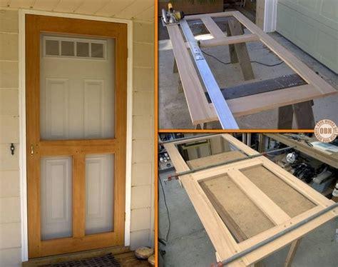 build  diy screen door learn   viewing  full
