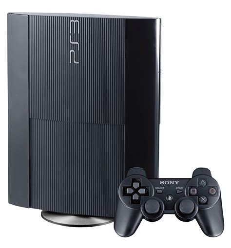 Playstation 3 Slim Black built in player