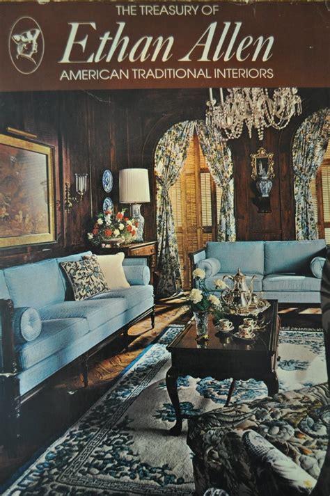 vintage catalog 70s Ethan Allen furniture 1974
