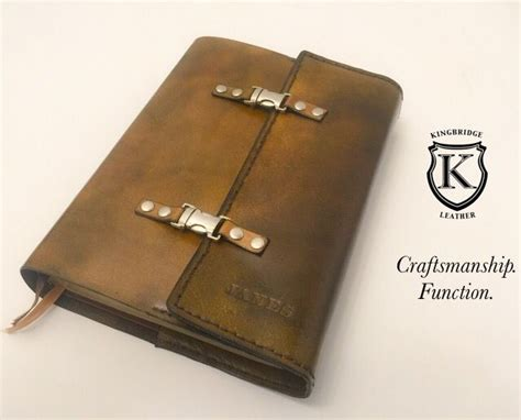 Handmade Leather Bible Covers - 58 best images about kingbridge leather items on
