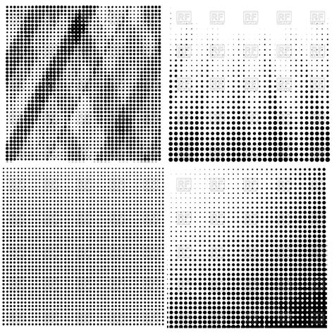 halftone pattern download halftone patterns set royalty free vector clip art image