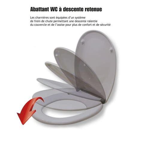 Abattant Wc Frein De Chute 2968 by Abattant Wc 224 Descente Retenue Gris Abattant Wc Eminza
