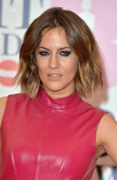 caroline flack dip dyed hair dip dyed hair ideas our favourite a list looks gallery