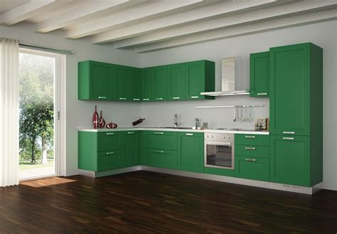 tiny house design ideas the dominant color green paint 30 modern kitchen design ideas