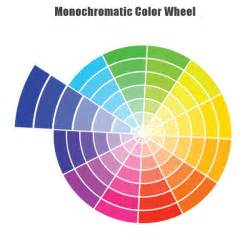 inc color image monochromatic paint color wheel exle uses with pictures