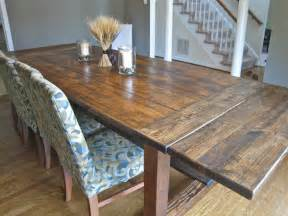 Rustic dining table plans to complete your beautiful dining room