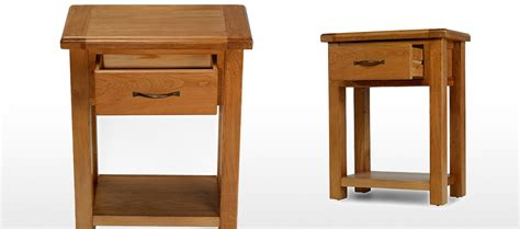barham oak small hall table quercus living