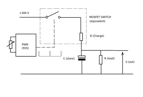 mosfet pwm capacitor pwm with mosfet switch electrical engineering stack exchange