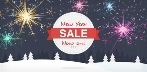 new year s day sales free new year sale banner badge for your site create